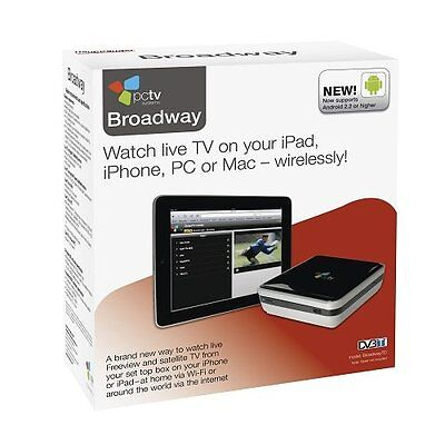 Hauppauge PCTV Systems BROADWAY 2T DualTV WiFi USB (HAU6012) NEU