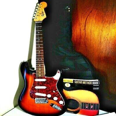 Fender Squier Strat Vintage Sunburst Electric Guitar(NICE!!)