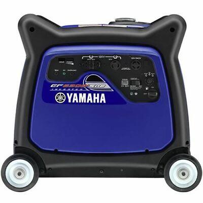Yamaha Ef6300isde - 5500 Watt Electric Start Inverter Generator Carb