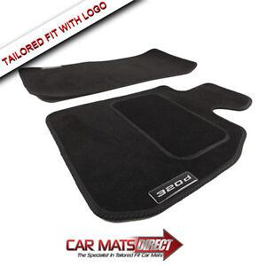 Bmw Car Mats Ebay >> BMW 3 Series Saloon E90 320d 05-12 Tailored Black Car Mats ...