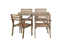 Details about Ikea Garden Table and Chairs