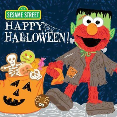 Happy Halloween! (Sesame Street Scribbles Elmo) - Sesame Street Halloween Book