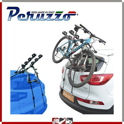 PORTABICI POSTERIORE AUTO 3 BICI PEUGEOT 3008 ESCL. TETTO VETRO / WITHOUT...