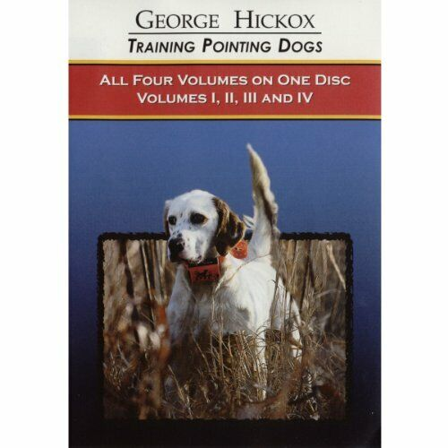 D.T. Systems Training Pointing Dogs Dvd Collection of Volumes 1 to 4