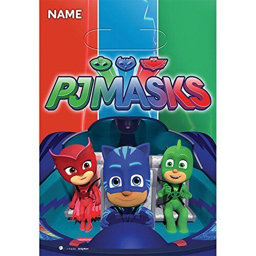 16 COUNTS PJ MASKS Treat Favor Birthday Party Loot Gift 16 B
