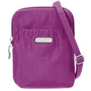 Baggallini  BRY757MAG Classic Bryant Pouch Crossbody Bag  Magenta  (New Other)