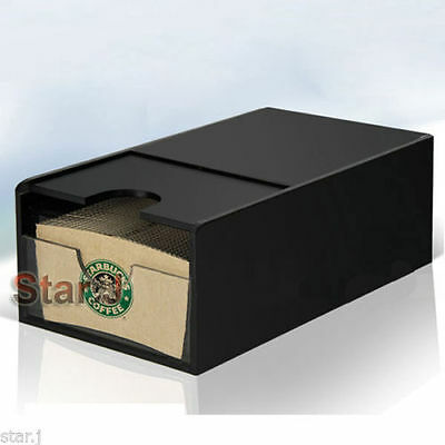 Starbucks Coffee Paper cup sleeve Holder Dispenser Organizer Box Hot Beverage (Coffee Cup Sleeve Dispenser)