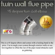 Woodburner Twin Wall Flue