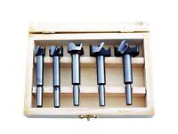 XTools 5 Pc Forstner Flat Bottom Blind Hole Bit Set - 15,20,25,30,35mm
