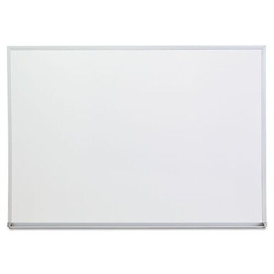 Universal Dry Erase Board Melamine 48w X 36h Satin-finished - Unv43624