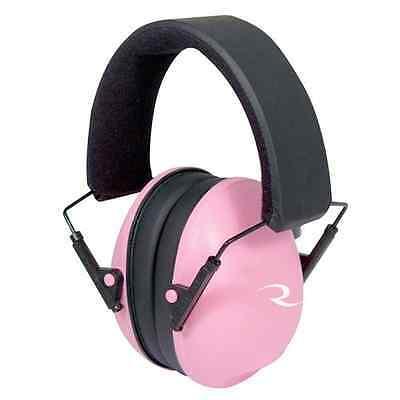Radians Pink Lowset Earmuff, Pink/Black