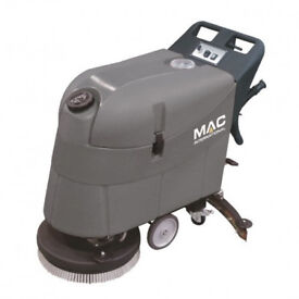New MAC International Floormaster SD500B Big Pedestrian Battery Powered Industrial Scrubber Dryer