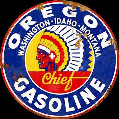 Oregon Gasoline Sign