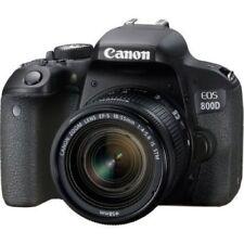 Canon EOS Rebel 800D / T7i 24.2MP Digital SLR Camera w/ EF-S 18-55mm Lens