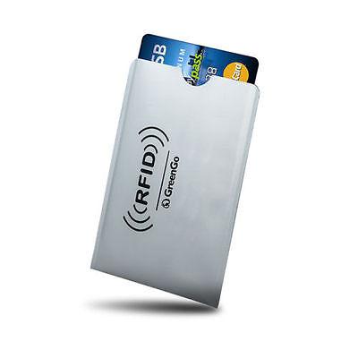 Custodia Schermata Porta Portafoglio Protezione x Carta di Credito Bancomat Visa
