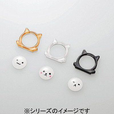 ELECOM Japan 3 pieces for iPhone Home button sticker input Animal cat P-AHA2