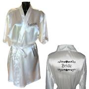 Personalised Wedding Robes