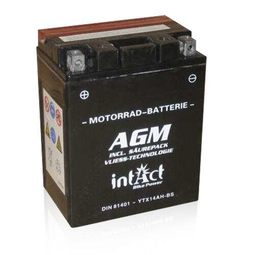 Intact Bike-Power AGM 81401 PREMIUM Motorradbatterie 12V/12Ah YTX14AH-BS *NEU*