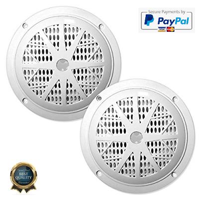 4 Inch Dual Marine Speakers - Waterproof and Weather Resista