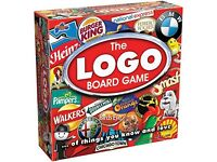 The Logo Board Game. Brand new. Sealed.