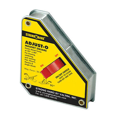 Strong Hand Tools 6 In. Adjust-o Magnet Square Msa47