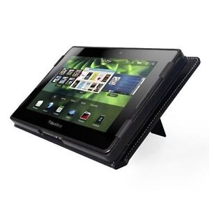 BlackBerry PlayBook Tablet 32GB, Wi-Fi, 7in - Black Leather Case