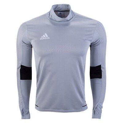 baee4ab679f Adidas Boy s (Size Large) Tiro Soccer Training Top Jersey Gray BP6022