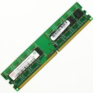 4 memory bars for PC 3GB in total
