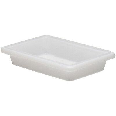 Cambro 12183cw148 Cambro Food Storage Box Half-size 1-34 Gallon White
