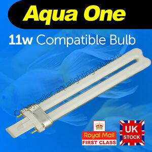 Aqua One 11w 2pin light bulb AquaStart 320/40/500 AquaStyle 380/510 AquaMode 600