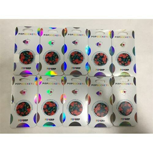 PopSockets Holiday PopGrip Cell Phone Grip & Stand - 10 Pack