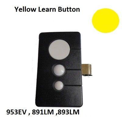 891LM LiftMaster 3 Button Remote Transmitter Garage Security+ 2.0 myQ 950ESTD