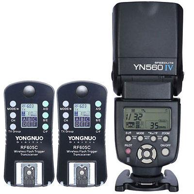 Вспышки и компелкты Yongnuo YN-560IV LCD