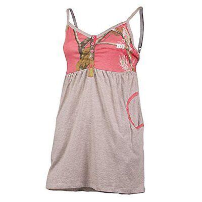 RealTree Girl Oatmeal Pink Camo Kayla Cami Lingerie Sleepwear Pajamas Women's T3 - Girls Pink Pajamas