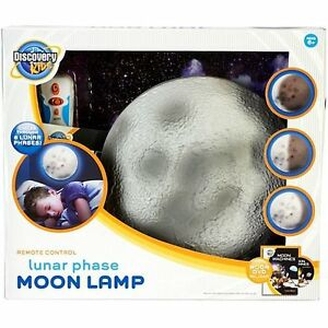 Discovery Kids Lunar Phase Moon Lamp