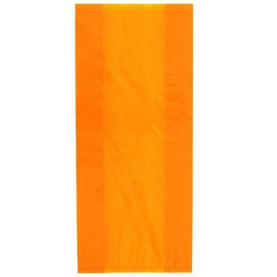 30 Orange Zellophan Geschenk Taschen - Plastik Beutel Party Geburtstag