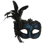 Blue Masquerade Masks
