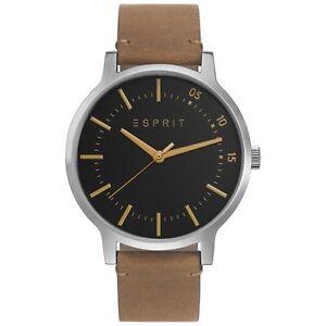 Esprit Men's Watch | ES108271001 Evan | Analog | Quartz | Leather | RRP £ 120