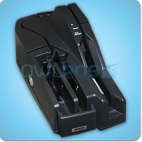 Epson TM-S1000 POS Bank MICR Check Scanner M236A USB REFURBISHED Dark Gray