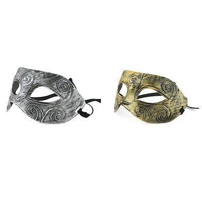 Hot Antique Silver/Gold Greek Roman Soldier Venetian Party Masquerade Mask](Hot Greek Men)