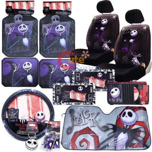 Nightmare Before Christmas Seat Covers | eBay