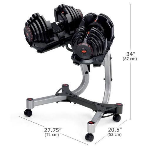 Bowflex Adjustable Dumbbells Used: Bowflex 1090: Weights & Dumbbells