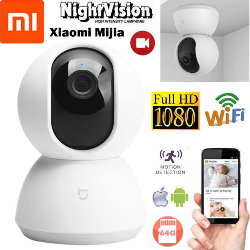 Xiaomi Mijia 1080P Home Security Panoramic IP Camera NightVi