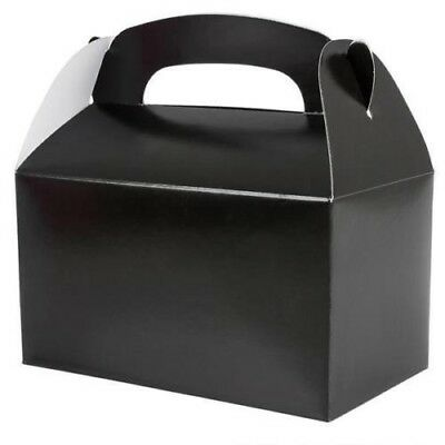 24 BLACK COLOR TREAT BOXES Birthday Party......  FREE - Color Boxes