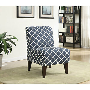 Scarlett Transitional Polyester Fabric Accent Chair NEW