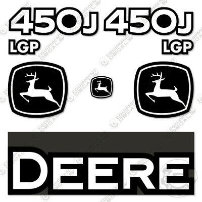 John Deere 450j Lgp Decal Kit Crawler Tractor Dozer Replacement Sticker Set