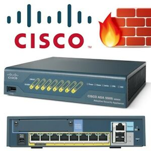 NEW CISCO ASA 5505 ADAPTIVE SECURITY FIREWALL APPLIANCE