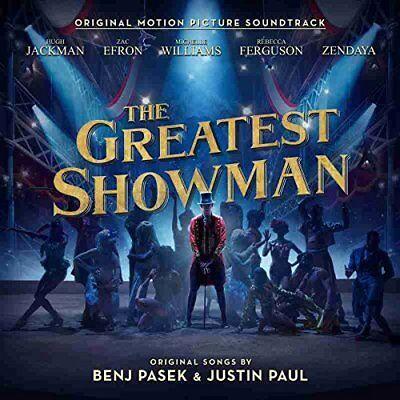 The Greatest Showman   Original Motion Picture Soundtrack   Uk Cd Album 2017