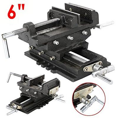 Heavy Duty 6 Cross Drill Press Vise Slide Metal Milling 2 Way Clamp Vice As