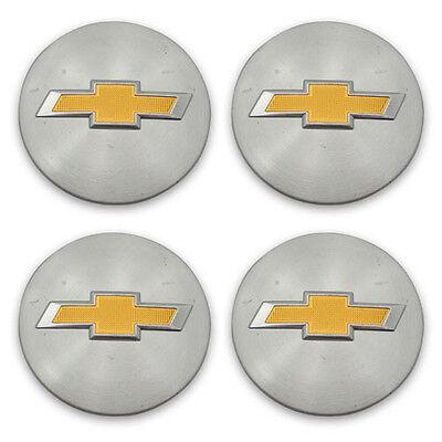 SET OF 4 OEM 05-10 Chevy Impala HHR Cobalt ETC 9595010 Wheel Center Cap Hubcap (Impala Center Caps)